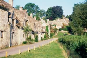 Bibury village gloucestershire